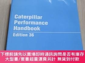 二手書博民逛書店Caterpillar罕見Performance Handbook Edition 36Y13509 CATE