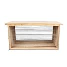養蜂工具 中蜂標準杉木成品巢框蜜蜂專用蜂箱銅眼鐵絲全套巢框養蜂工具 城市科技DF