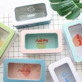 創意小清新馬口鐵置物盒可愛鐵盒烘焙裝飾盒雜物整理文具收納盒子 伊衫風尚
