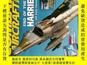 二手書博民逛書店COMBAT罕見AIRCRAFT MONTHLY 2011 02 世界軍事航空雜誌Y14610