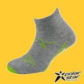 PolarStar 中性排汗短筒襪『炭灰』P18521 露營.戶外.登山.排汗襪.彈性襪.紳士襪.休閒襪.短襪.長襪