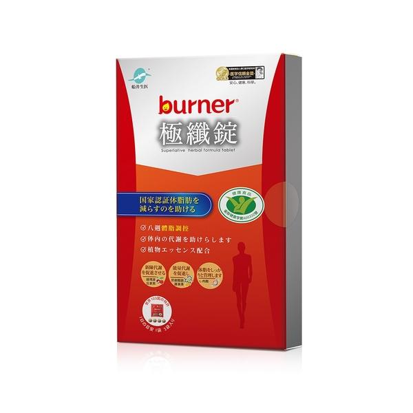 【即期】burner倍熱 健字號極纖錠12顆/盒 -2021.11.13
