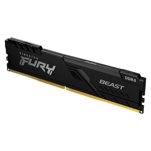 Kingston 金士頓 FURY Beast 獸獵者 DDR4 2666 16GB 桌上型超頻記憶體(KF426C16BB1/16)