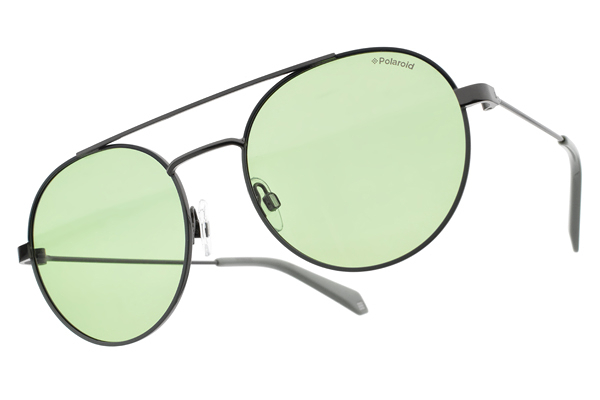 Polaroid 偏光太陽眼鏡 PD6056S 1EDUC (槍-綠) 時尚活力款 # 金橘眼鏡