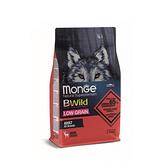 寵物家族-[買就送試吃包x3]MONGE瑪恩吉-真野低穀 成犬(鹿肉)2.5kg