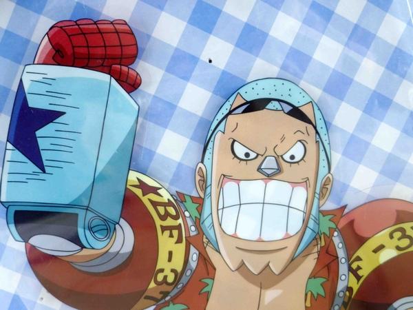 【震撼精品百貨】One Piece_海賊王~貼紙-弗朗基