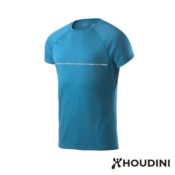 瑞典 Houdini Fast Track Tee 舒適快乾休閒T恤 男款 船身藍 #255504