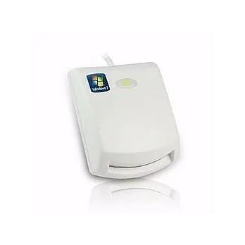 專業ATM報稅讀卡機智慧型IC晶片自然人憑證/健保卡報稅好幫手(白色) 歐文購物
