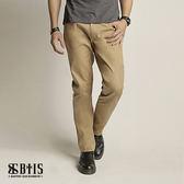 【BTIS】隱形口袋長褲 / 卡其色