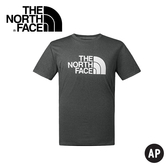 【The North Face Men's S/S Half Dome Reaxion Tee男款 短袖排汗衣〈深灰〉】2SM3/排汗衣/短袖