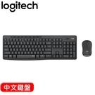 Logitech 羅技 MK295 靜音鍵盤滑鼠組 石墨灰