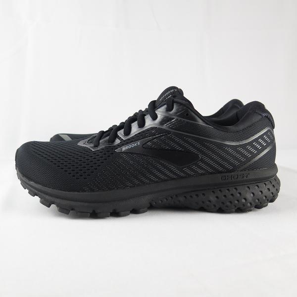 Brooks GHOST 12 男款 高緩衝 慢跑鞋 4E楦 1103164E040 全黑【iSport 愛運動】