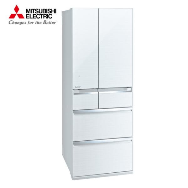 [MITSUBISHI 三菱]605公升 日本原裝六門變頻冰箱-水晶白 MR-WX61C-W-C【門市展示新品 限定台南以南】