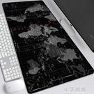 北歐地中海洋風格創意加厚超大世界地圖滑鼠墊防水防滑鎖邊鍵盤墊【小艾新品】