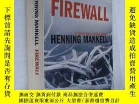 二手書博民逛書店FIREWALL罕見by Henning MankellY146