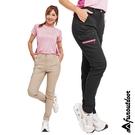 女款多口袋防潑水超彈性輕薄快乾萊卡UPF...