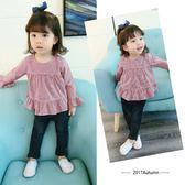 女童襯衫長袖0女寶寶1純棉春秋3歲嬰兒4新款秋季韓版小女孩襯衣5 CY潮流站