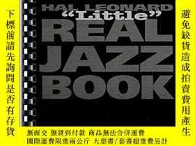 二手書博民逛書店The罕見Hal Leonard Real Little Jazz Book - C EditionY2562