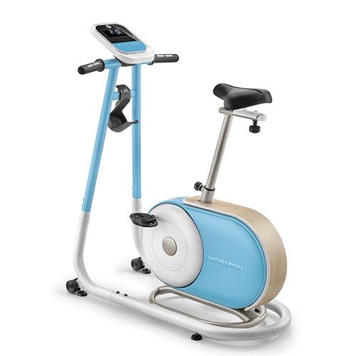 喬山 HORIZON Citta系列 BT5.0 直立式健身車/桌面 天空藍款