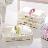 新年鉅惠雙格瀝水肥皂盒衛生間大號翻蓋創意帶手提防水帶蓋香皂架手工皂盒 芥末原創