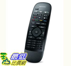 [103美國直購] 羅技 Logitech Harmony Smart Control with Smartphone App and Simple Remote - Black