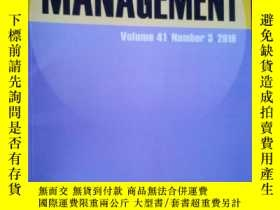 二手書博民逛書店Collection罕見management Volume41