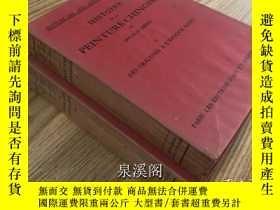 二手書博民逛書店1934年喜仁龍(Osvald罕見Siren)《中國繪畫史》上下兩卷 大開精裝 珂羅版226面 遠古