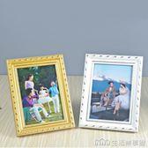 歐式實木相框7寸6578101216a4兒童照片擺台掛牆營業執照 生活樂事館