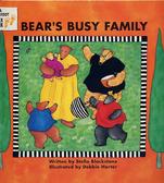 【麥克書店】BEAR'S BUSY FAMILY /英文繪本附CD《主題: 家族.句型.動詞》
