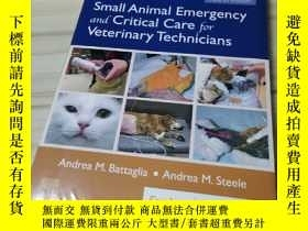 二手書博民逛書店Small罕見Animal Emergency and Critical Care for veterinary