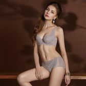 曼黛瑪璉-Hibra大波內衣  E-F罩杯(低調紫)