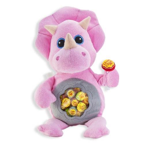Chupa Chups 超級好朋友背包綜合棒棒糖192g(粉紅犀牛)