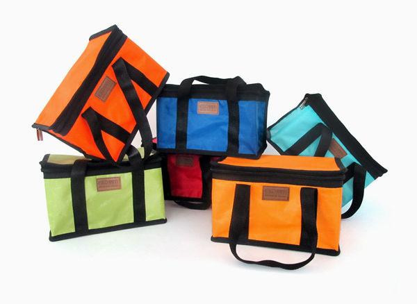 ♚MY COLOR♚牛津布手提保溫袋 長方形 保冷包 冰袋 便當袋 野餐袋 餐盒 外出袋 保溫袋【Z20】