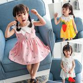 女童連體裙新款寶寶公主裙中小童韓版洋氣兒童裙子2-3-4-5歲