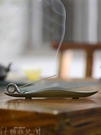 香爐 沉香線香爐家用室內香插香座仿古禪意插香座香托創意線香盒臥香爐 韓菲兒
