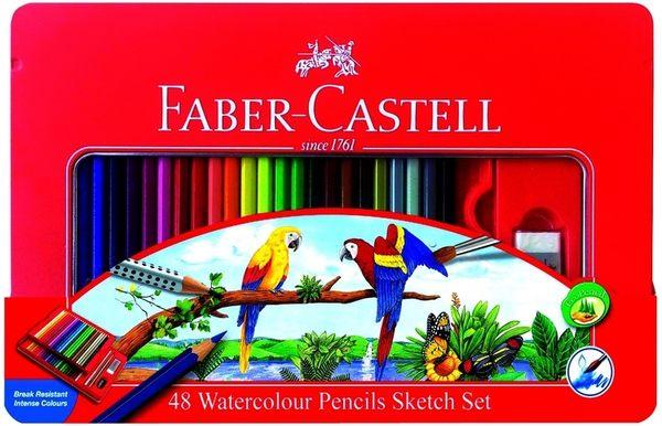 德國輝柏  水性色鉛筆60色 附水彩筆  /盒  (115965)