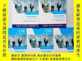二手書博民逛書店CFA2017罕見EXAM PREP(1—5冊)5本合售(英文原