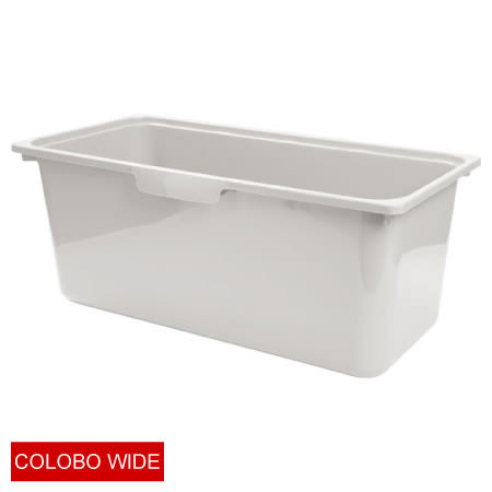 COLOBO WIDE收納盒 深型 P1GY NITORI宜得利家居