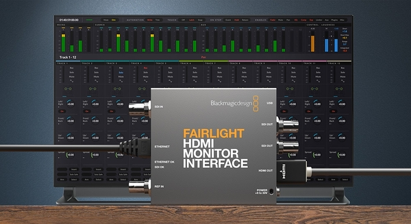 【聖影數位】Blackmagic Design Fairlight HDMI Monitor Interface 轉換器 公司貨