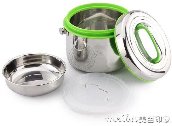 大容量304不銹鋼保溫飯盒商用保溫桶手提雙層提鍋家用食堂湯飯桶igo 美芭