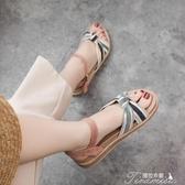涼鞋-涼鞋女鞋仙女風夏年新款夏季百搭學生夏天潮平底鞋子 提拉米蘇