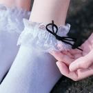 促銷 蝴蝶結蕾絲襪子女短襪淺口韓國花邊襪低幫純棉日系可愛夏季lolita
