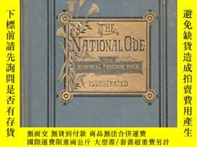 二手書博民逛書店古籍,The罕見National Ode: The Memorial Freedom Poem,約1877年出版,