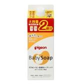 【愛吾兒】貝親 pigeon 滋潤型嬰兒泡沫沐浴乳補充包800ml
