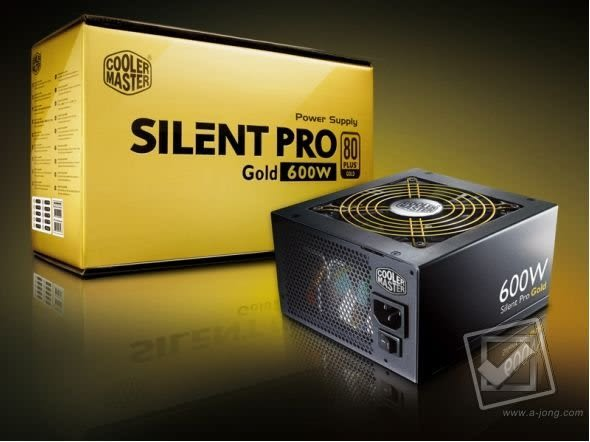 [ PC PARTY ] CoolerMaster 金牌 600W 模組化 電源供應器