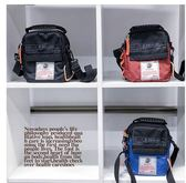 【黑色星期五】港風潮流單肩包男百搭斜挎包學生情侶新款運動背包男生小包包