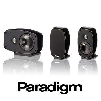 【名展音響】加拿大 Paradigm Cinema™ 100 3.0音響組合 黑色