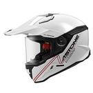 【東門城】ASTONE MX800 BF5 素色 (白) 全罩式安全帽 多功能 快拆式帽舌