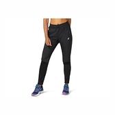 Asics RACE PANT [2012B916-001] 女 長褲 運動 服貼 輕量 舒適 膝蓋 開口 立體 黑