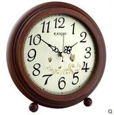 凱琴鐘表麗聲機芯石英鐘實木座鐘